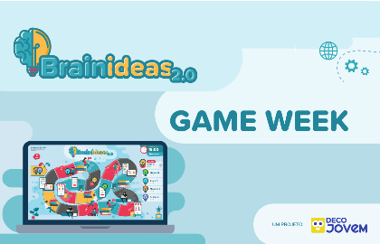 Brain IDeas Game Week, com prémios para as escolas!